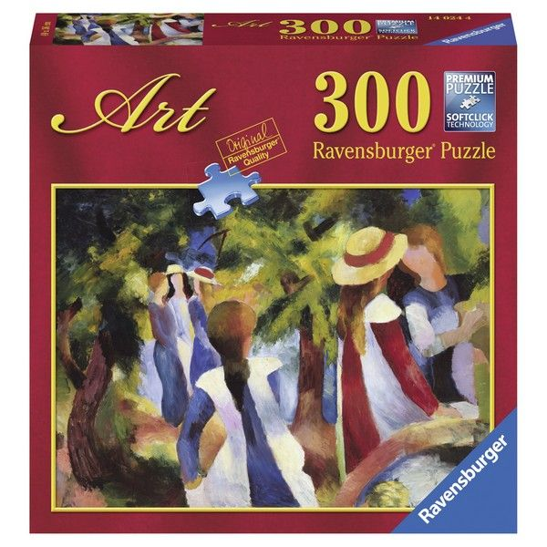 Ravensburger puzzle August Macke: Girls Among Trees RA14024 - ODDO igračke