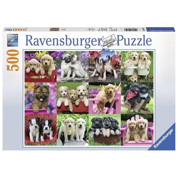 Ravensburger puzzle (slagalice) 500pcs Ljubimci RA14659 - ODDO igračke