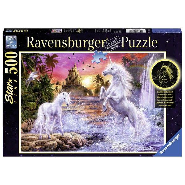Ravensburger puzzle (slagalice)- Jednorog na reci - ODDO igračke