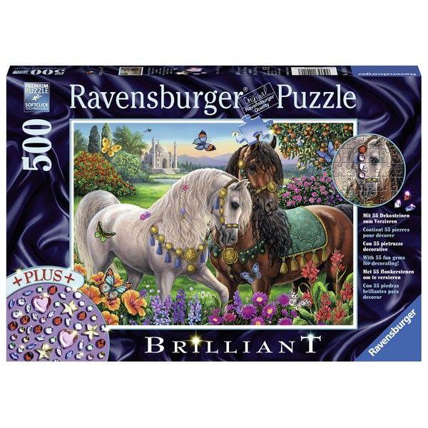 Ravensburger puzzle (slagalice) Konji ukraseni RA14911 - ODDO igračke