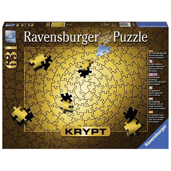 Ravensburger puzzle (slagalice)- KRYPT zlatni RA15152 - ODDO igračke