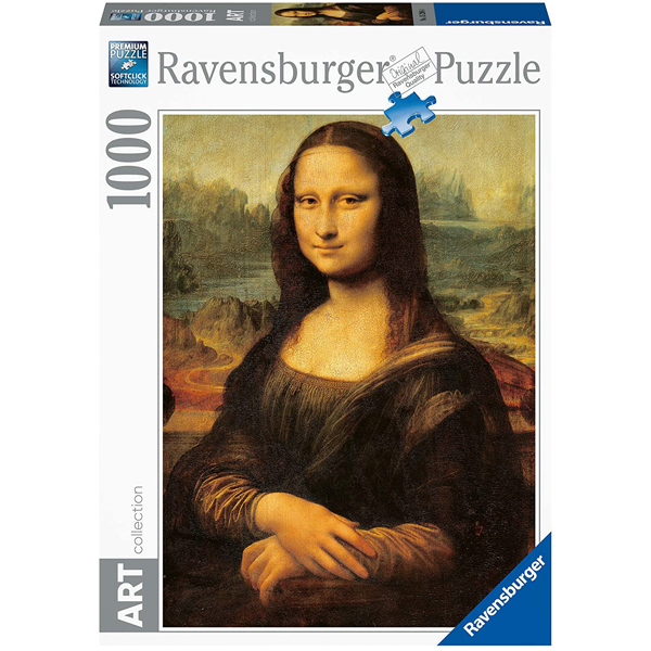 Ravensburger puzzle 1000pcs Leonardo da Vinci Mona Lisa RA15296 - ODDO igračke
