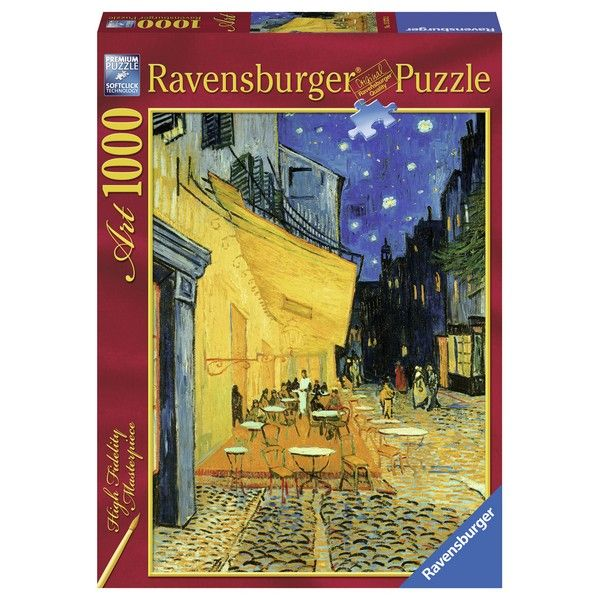 Ravensburger puzzle (slagalice) 1000pcs Terasa kafane u noći Van Gogh RA15373 - ODDO igračke