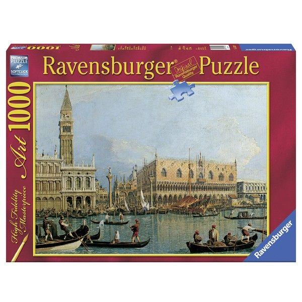 Ravensburger puzzle 1000 Pcs Canaletto Ducal Palace RA15402 - ODDO igračke