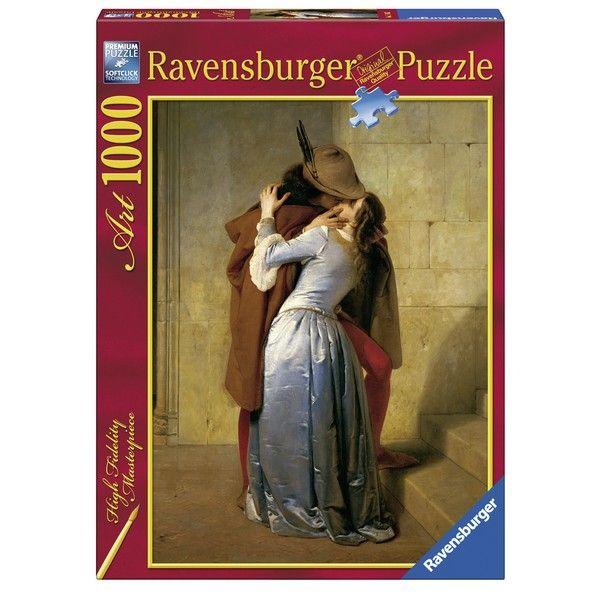 Ravensburger puzzle Hayez The Kiss RA15405 - ODDO igračke