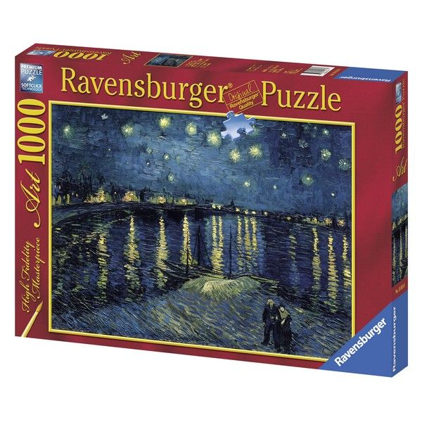 Ravensburger puzzle (slagalice) Zvezdana noć Van Gog RA15614 - ODDO igračke