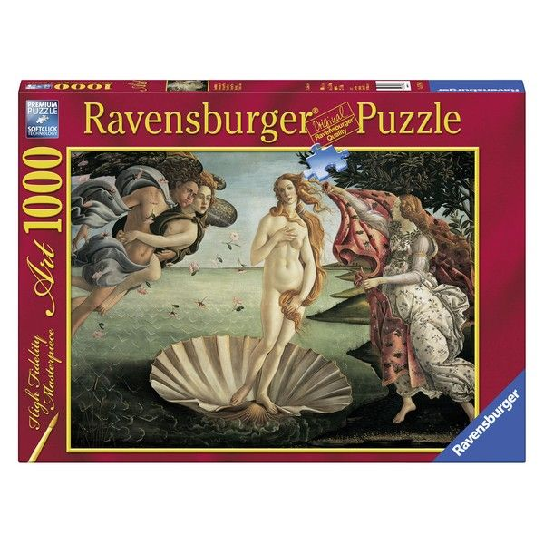 Ravensburger puzzle 1000pcs Boticelli The Birth of Venus RA15769 - ODDO igračke
