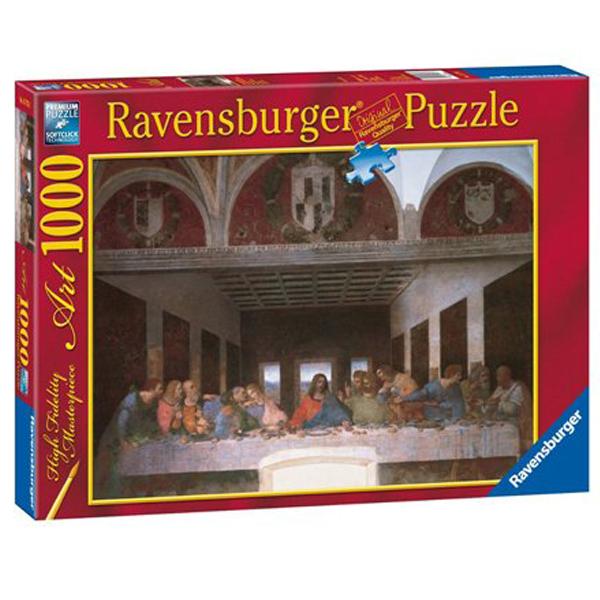 Ravensburger puzzle 1000pcs Leonardo da Vinci The Last Supper RA15776 - ODDO igračke