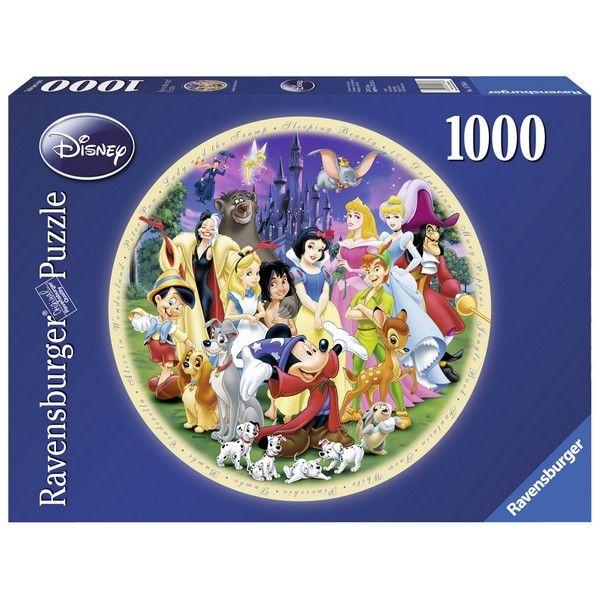 Ravensburger puzzle (slagalice) Diznijevi likovi, okrugla RA15784 - ODDO igračke