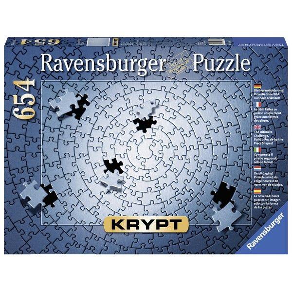Ravensburger puzzle (slagalice) 654pcs KRYPT  srebrni RA15964 - ODDO igračke
