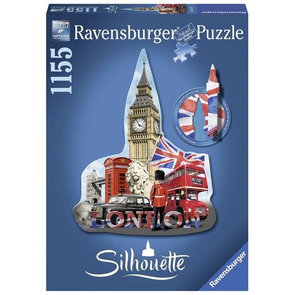 Ravensburger puzzle (slagalice)- Big Ben silueta RA16155 - ODDO igračke