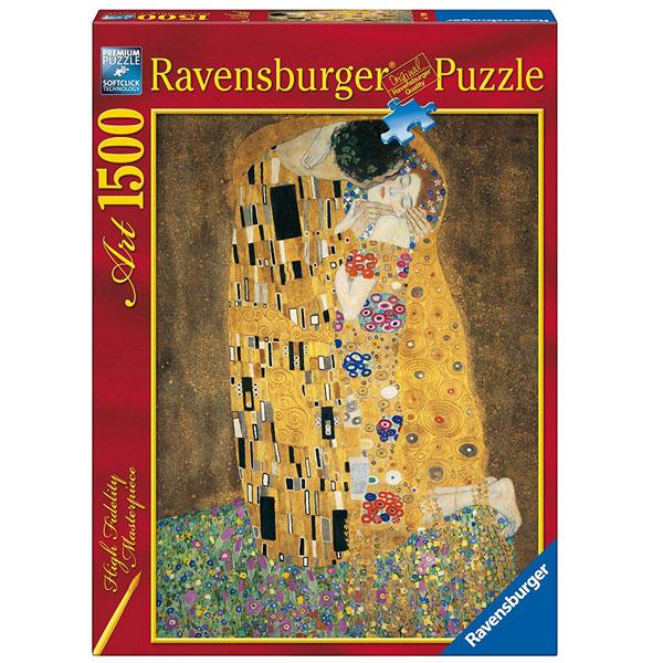 Ravensburger puzzle 1500 pcs Klimt RA16290 - ODDO igračke