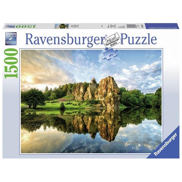 Ravensburger puzzle (slagalice)- Priroda sa jezerom RA16301 - ODDO igračke