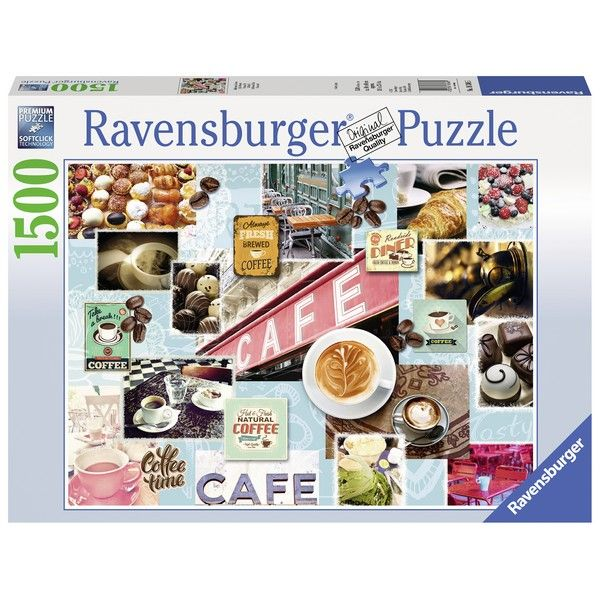 Ravensburger puzzle (slagalice) 1500pcs Kafa na razne nacine RA16346 - ODDO igračke