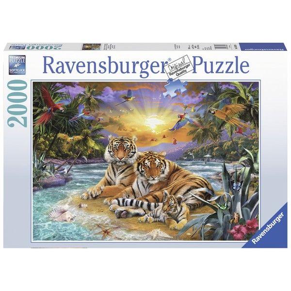 Ravensburger puzzle (slagalice)- Porodica tigrova RA16624 - ODDO igračke