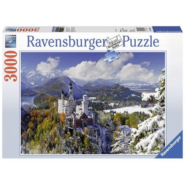 Ravensburger puzzle (slagalice) Zamak Nojsvanstajn iz daljine 3000pcs RA17062 - ODDO igračke