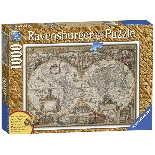 Ravensburger puzzle (slagalice)- Anticka karta sveta 1000 RA19004 - ODDO igračke
