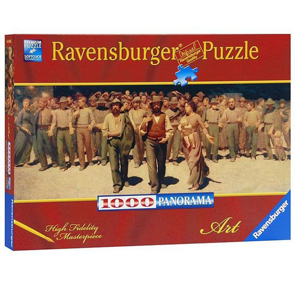 Ravensburger puzzle (slagalice) 1000pcs Djuzepe Pelica Volpedo RA19006 - ODDO igračke