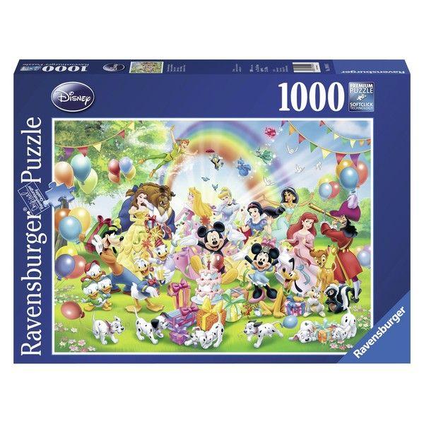 Ravensburger puzzle (slagalice) Mikijev rodjendan RA19019 - ODDO igračke