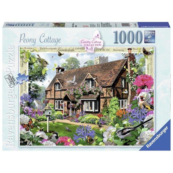 Ravensburger puzzle Country Cottage 8 Peony Cottage RA19413 - ODDO igračke