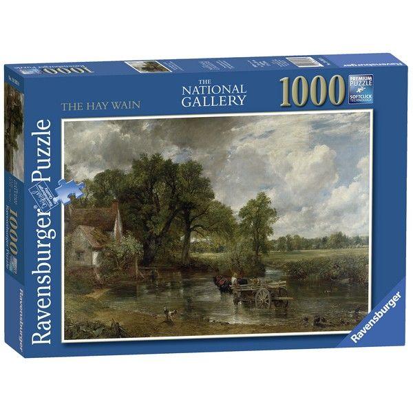 Ravensburger puzzle (slagalice) - Konstabl The Haywain RA19593 - ODDO igračke