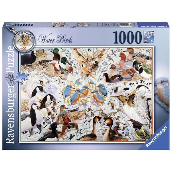 Ravensburger puzzle (slagalice)- Ptice na okupu RA19649 - ODDO igračke