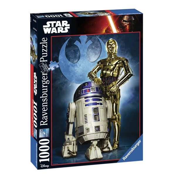 Ravensburger puzzle (slagalice) Star Wars R2-D2  RA19682 - ODDO igračke