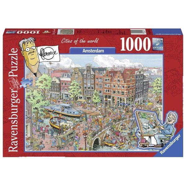 Ravensburger puzzle (slagalice)- Amsterdam - ODDO igračke