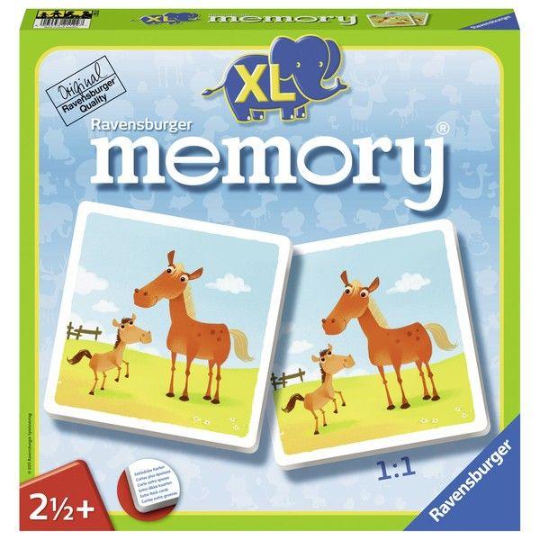 Ravensburger društvena igra Memorija XL RA21122 - ODDO igračke