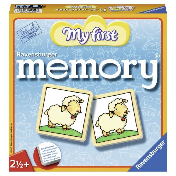 Ravensburger društvena igra Moja prva memorija RA21129 - ODDO igračke