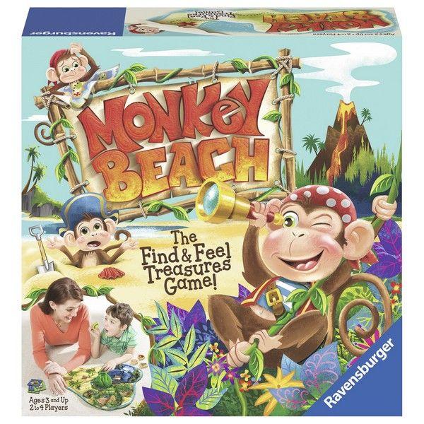 Ravensburger drustvena igra - Monkey Beach RA21145 - ODDO igračke
