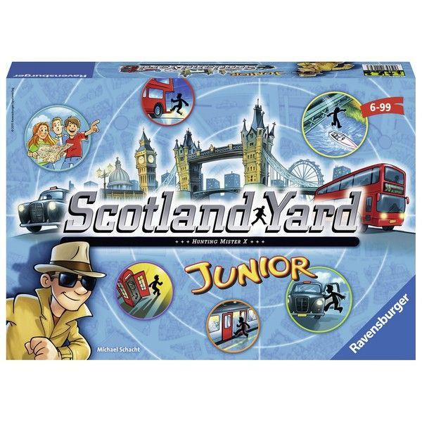 Ravensburger društvena igra Junior Scotland Yard RA21162 - ODDO igračke