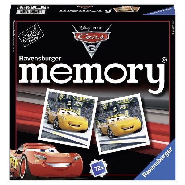 Ravensburger društvena igra Cars memorija RA21291 - ODDO igračke