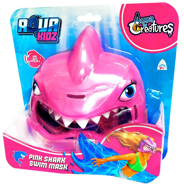 Maska za plivanje Ajkula Girl EL900SKG - ODDO igračke