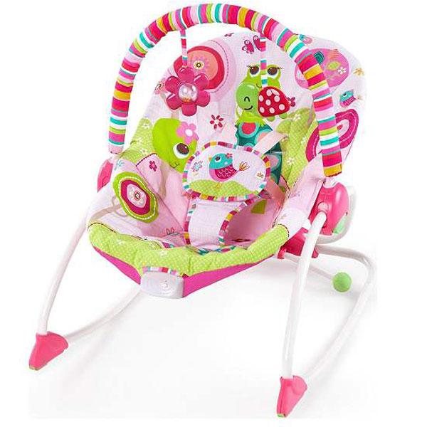 Kids II Ležaljka Raspberry Garden SKU10125 - ODDO igračke
