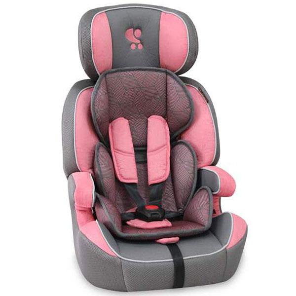 Auto sedište za decu od 9-36 kg Navigator Grey & Rose 10070901751  - ODDO igračke