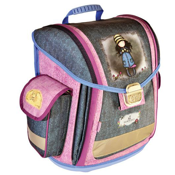 Gorjuss torba đačka anatomska Toadstools G4183554 - ODDO igračke