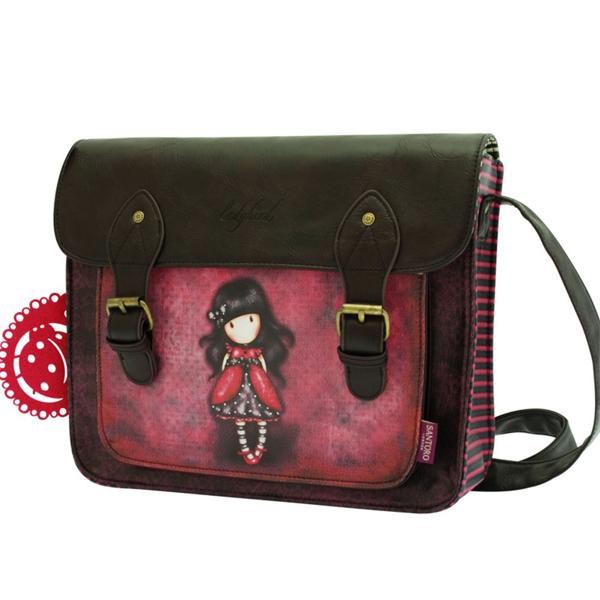 Gorjuss torba na rame kožna 2 kopče Ladybird 360GJ03 - ODDO igračke