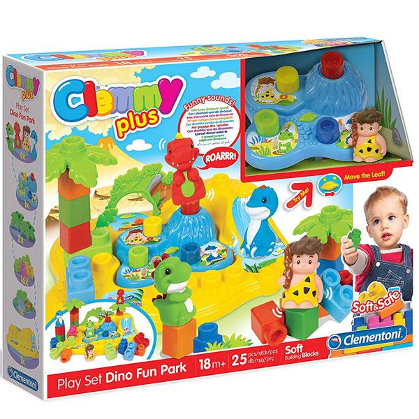 Clemmy kocke Dino park set CL17079 - ODDO igračke