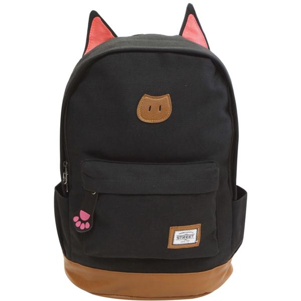 Ranac Street Cat Black 53366 - ODDO igračke