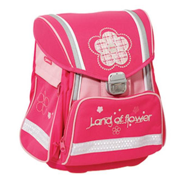 Đačka anatomska torba Land of flower Connect roze 303972 - ODDO igračke