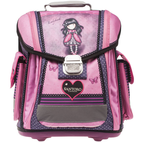Đačka anatomska torba Ladybird Gorjuss G4179430 - ODDO igračke
