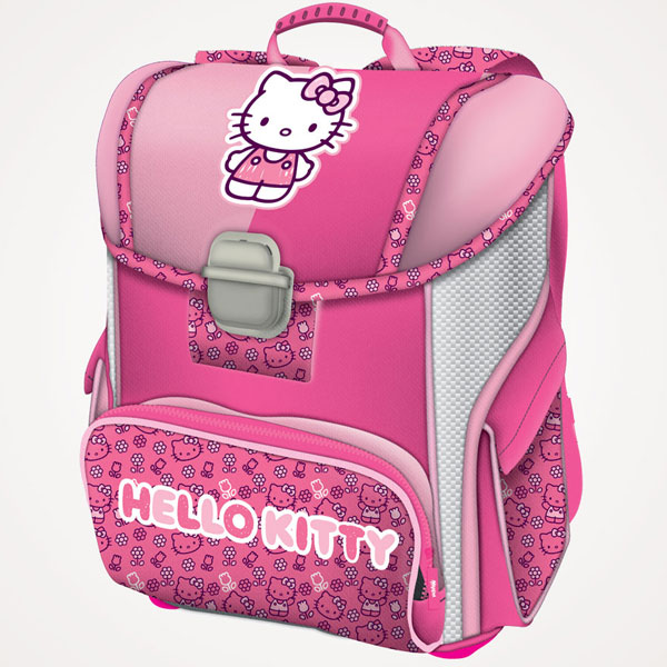 Đačka anatomska torba Hello Kitty Pink 16.Connect roze 607654 - ODDO igračke