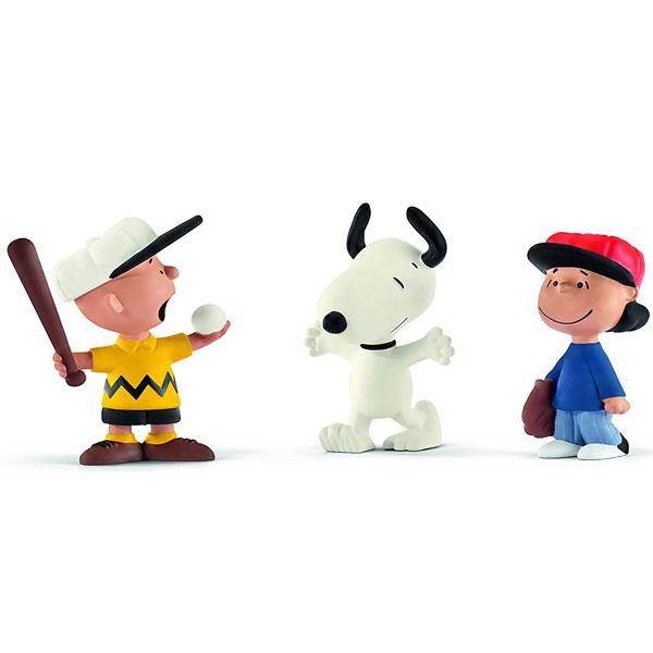 Schleich Snoopy Bejzbol  Scenery Pack 22043 - ODDO igračke