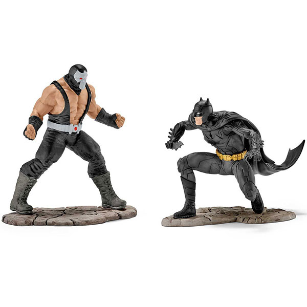 Schleich figure Batman vs. Bane Scenery Pack 22540 - ODDO igračke