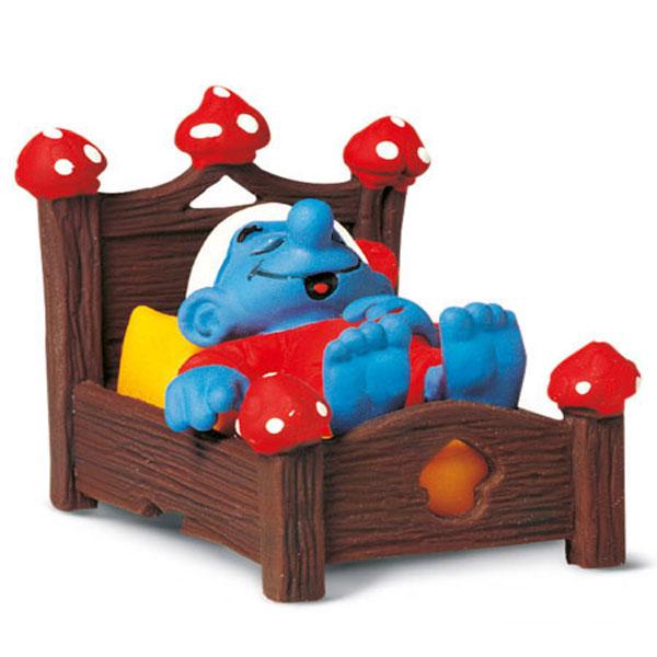 Schleich Štrumpf u krevetu 40240 - ODDO igračke