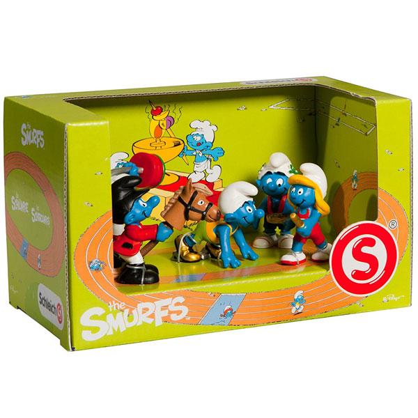 Schleich Set Sportski Štrumpfovi 41310 - ODDO igračke