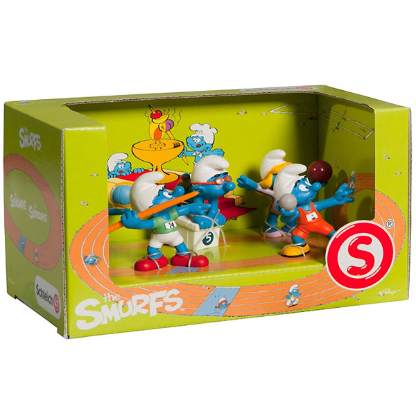 Schleich Set Sportski Strumpfovi 2 41311 - ODDO igračke