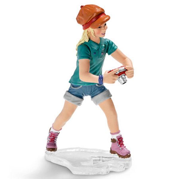 Schleich Devojka sa fotoaparatom 13469 - ODDO igračke