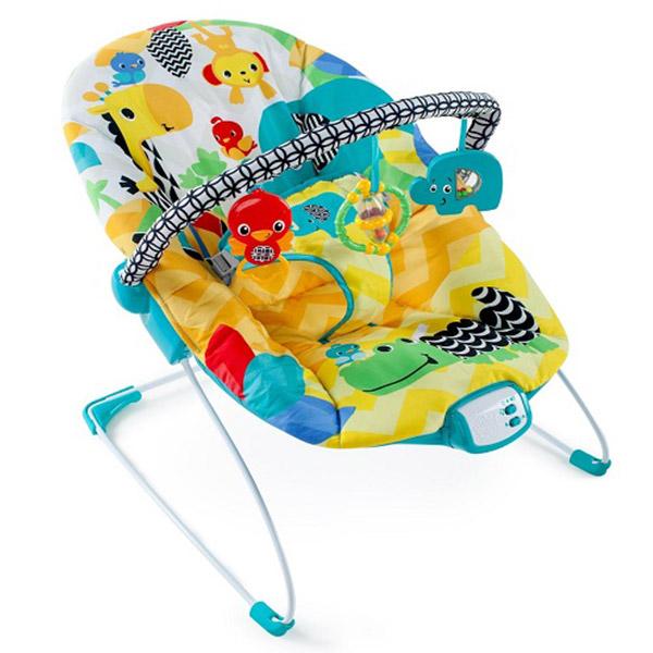 Kids II Ležaljka Safari Smiles SKU60390 - ODDO igračke